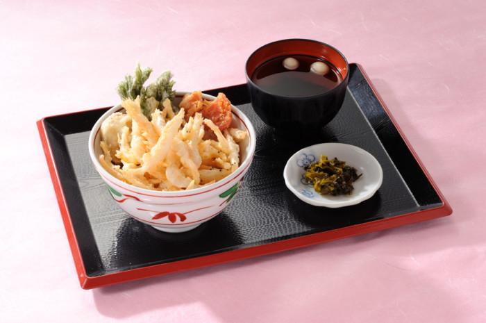 白えび天丼1260円