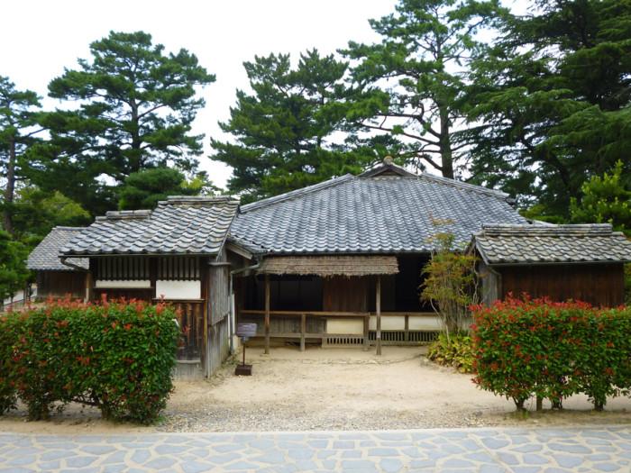 吉田松陰が幽囚の身となっていた、実家の杉家旧宅