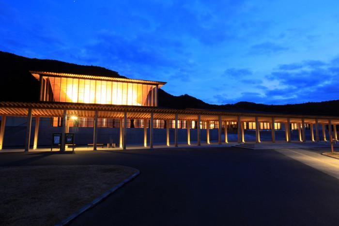 世界遺産熊野本宮館(夜景)