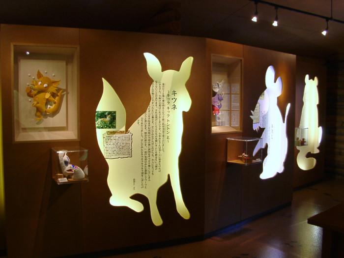 賢治の教室の展示