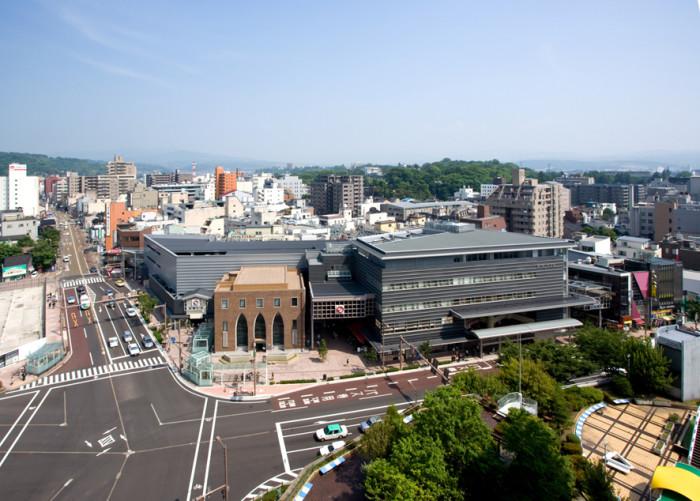近江町市場全景