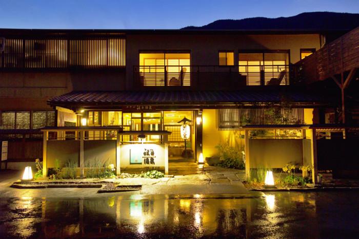 和の宿 ホテル祖谷温泉(夜景)