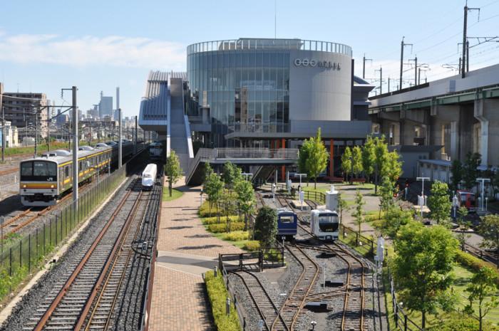 鉄道博物館(外観&パーク)