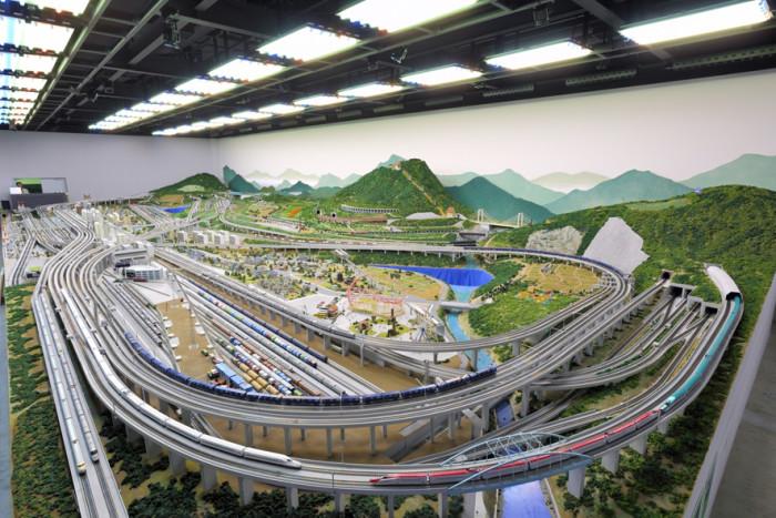 模型鉄道ジオラマ