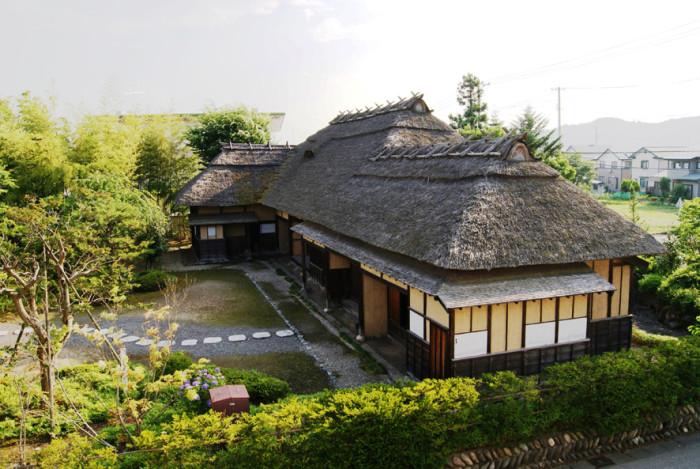 郷頭屋敷 旧外島家住宅(福島県指定重要文化財)