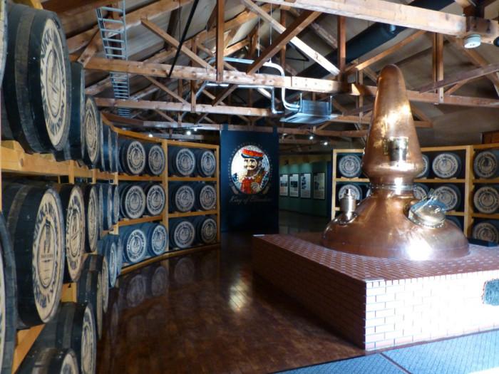 ウイスキー博物館入口