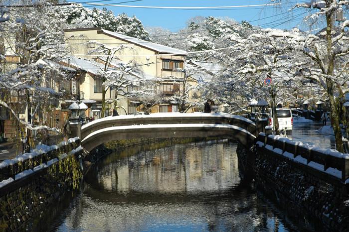 城崎温泉(雪景色)