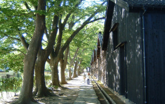 山居倉庫(庄内米歴史資料館、酒佃夢の倶楽)