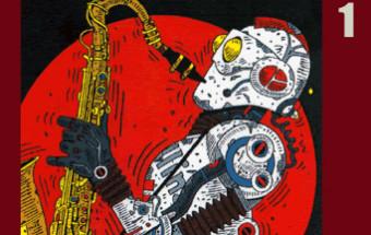 小森誠のイラストレーション「なつかしいクルマたち」展~番外編/「なつかしのロボットたち」