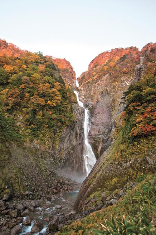 称名滝(紅葉)小