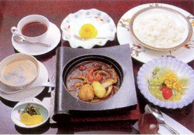 海鮮焼きカレーセット 1,490円(税込)