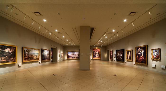 バロック展示室 、「写真は大塚国際美術館の展示作品を撮影したものです」