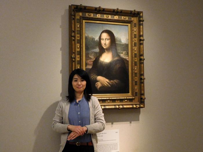 モナ・リザ 「写真は大塚国際美術館の展示作品を撮影したものです」