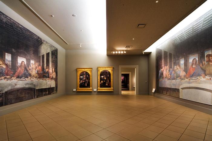 最後の晩餐 「写真は大塚国際美術館の展示作品を撮影したものです」