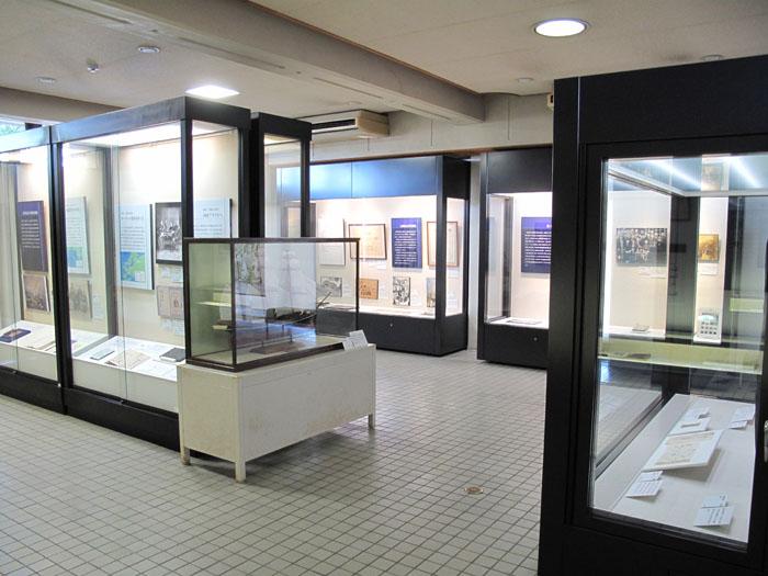 記念館1階フロア