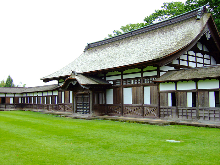大庫裏(写真提供:高岡山瑞龍寺)