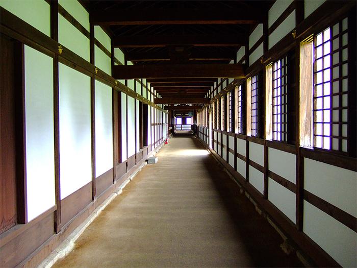 回廊(写真提供:高岡山瑞龍寺)