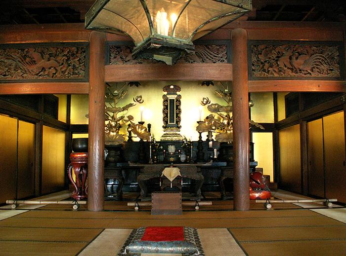 法堂(写真提供:高岡山瑞龍寺)