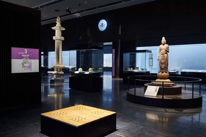 九州国立博物館_4階文化交流展示室3テーマ(小)