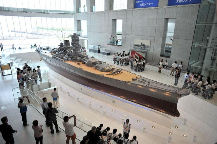 10分の1戦艦「大和」 提供:大和ミュージアム