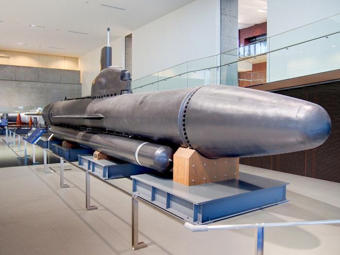 特殊潜航艇「海龍」 提供:大和ミュージアム