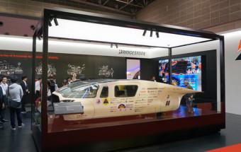 「東京モーターショー2017」ルポ(5) 新エコタイヤはEVのよさを加速させる!