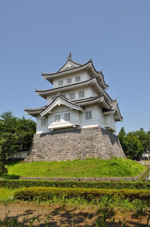 御三階櫓 (行田市郷土博物館提供)