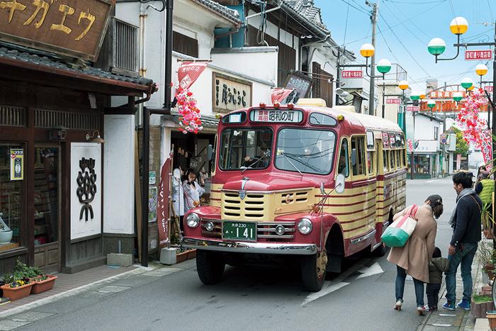 昭和ロマン蔵 豊後高田市_ボンネットバス02
