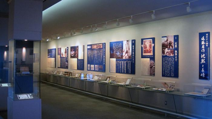 遠藤周作文学館 展示室Ⅰ ここは7月から常設展示としてリニューアルします