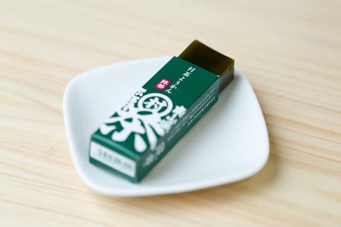 村茶ようかん 抹茶