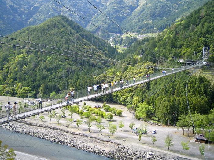 谷瀬の吊り橋-2006-05-06