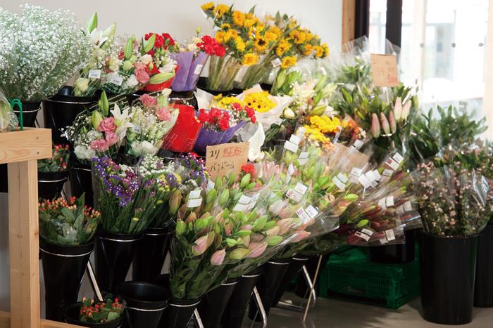 農産物直売所 花卉