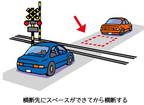 踏切横断基本ルール_イラストweb