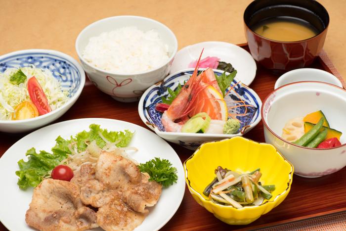 ノンキ―定食