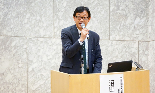 沼田泰氏(一般社団法人日本自動車工業会・2020検討会主査)