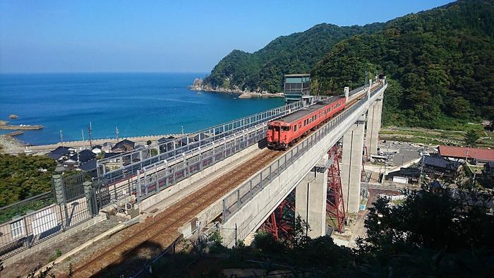 余部鉄橋「空の駅」・エレベーター、道の駅あまるべ6