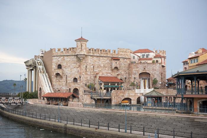 スペインの古城