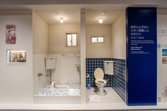 第2展示室 水まわりの変遷