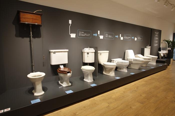 第2展示室 商品の歴史展示